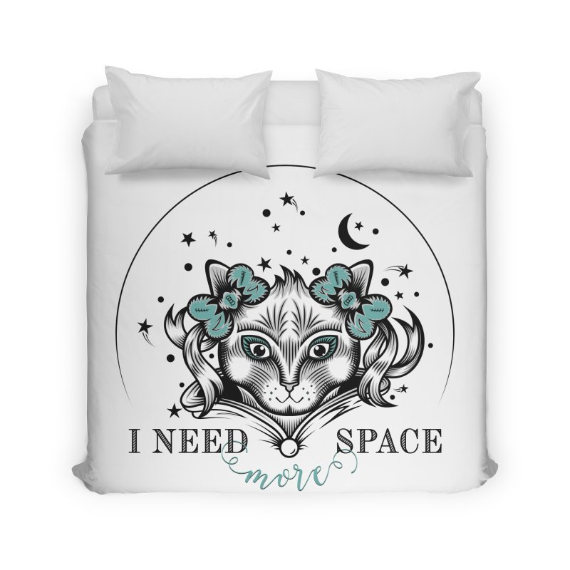 I need (more) space.. Home Duvet by thebraven's Artist Shop