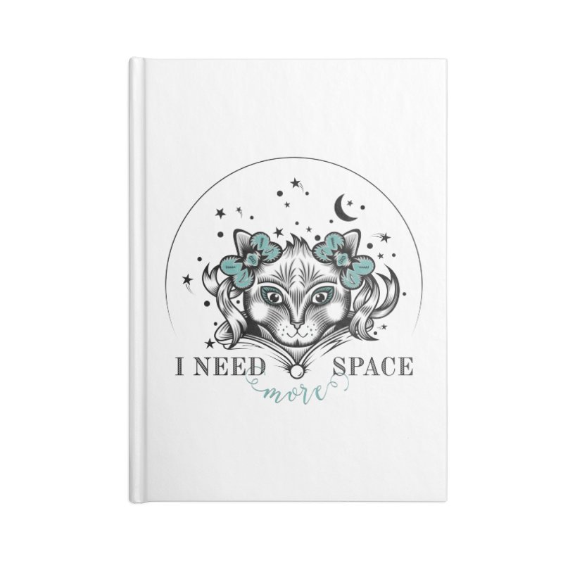 I need (more) space.. Accessories Notebook by thebraven's Artist Shop