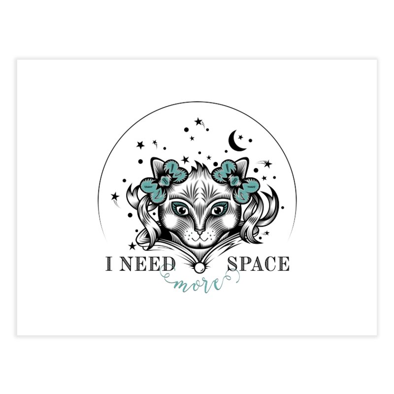 I need (more) space.. Home Fine Art Print by thebraven's Artist Shop