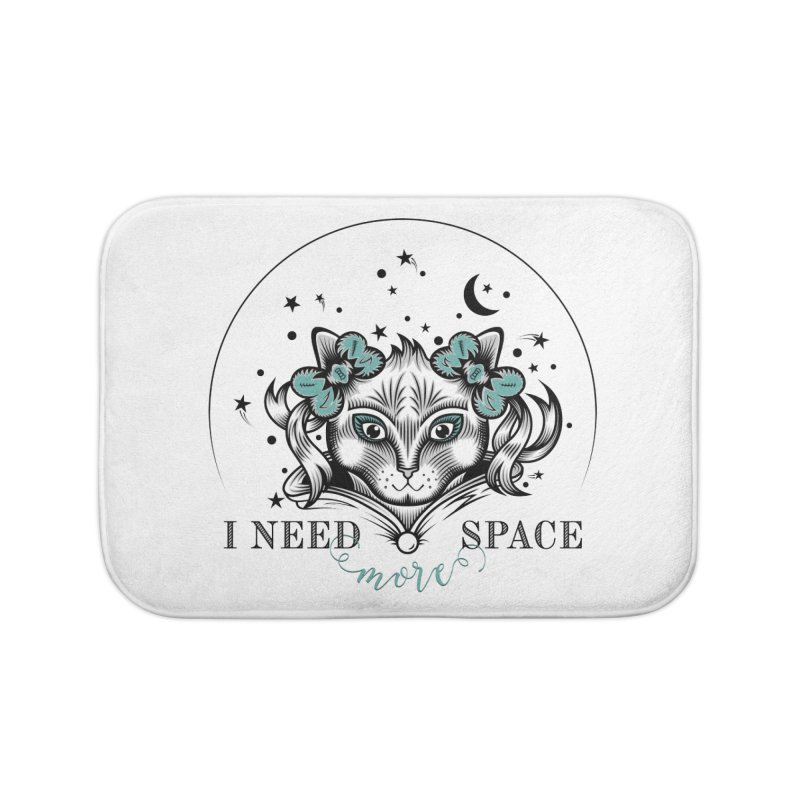 I need (more) space.. Home Bath Mat by thebraven's Artist Shop