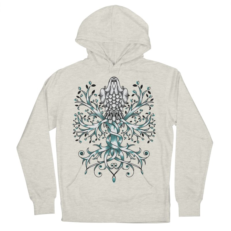 Raven & Tree of Life Women's Pullover Hoody by thebraven's Artist Shop