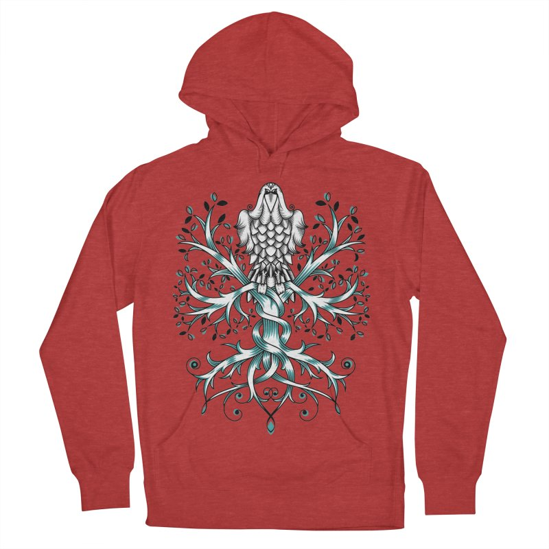 Raven & Tree of Life Men's Pullover Hoody by thebraven's Artist Shop