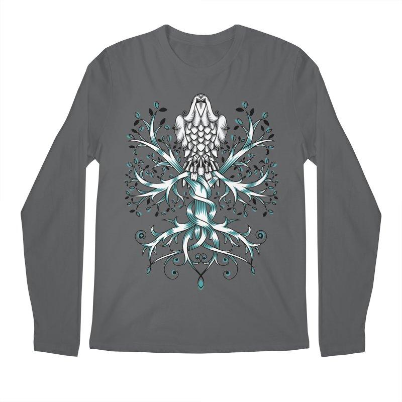 Raven & Tree of Life Men's Longsleeve T-Shirt by thebraven's Artist Shop
