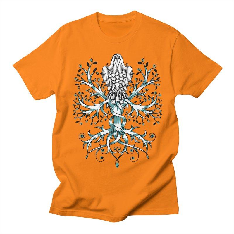 Raven & Tree of Life Women's Regular Unisex T-Shirt by thebraven's Artist Shop