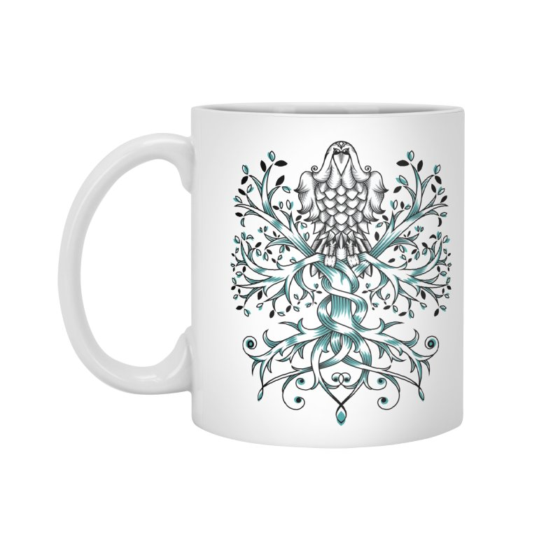 Raven & Tree of Life Accessories Mug by thebraven's Artist Shop