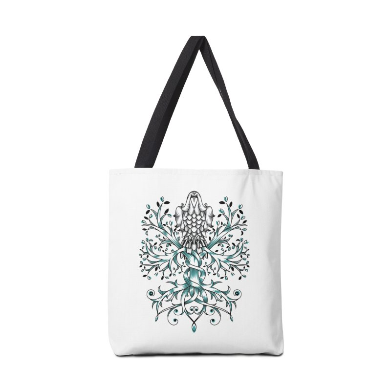 Raven & Tree of Life Accessories Bag by thebraven's Artist Shop