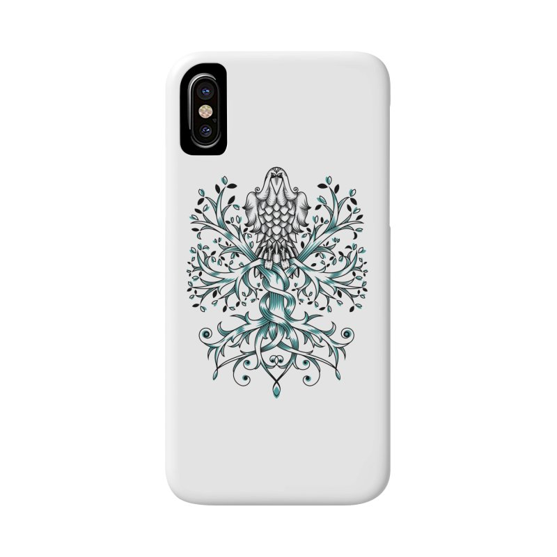 Raven & Tree of Life Accessories Phone Case by thebraven's Artist Shop