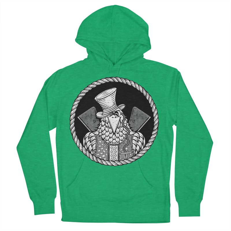 Not so friendly Raven Women's Pullover Hoody by thebraven's Artist Shop