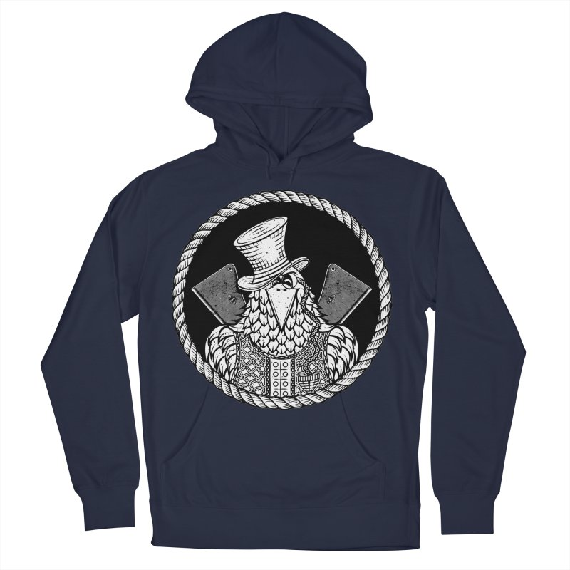 Not so friendly Raven Women's French Terry Pullover Hoody by thebraven's Artist Shop