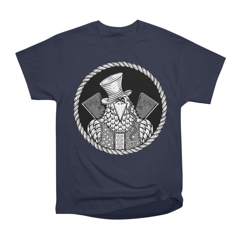 Not so friendly Raven Men's Heavyweight T-Shirt by thebraven's Artist Shop