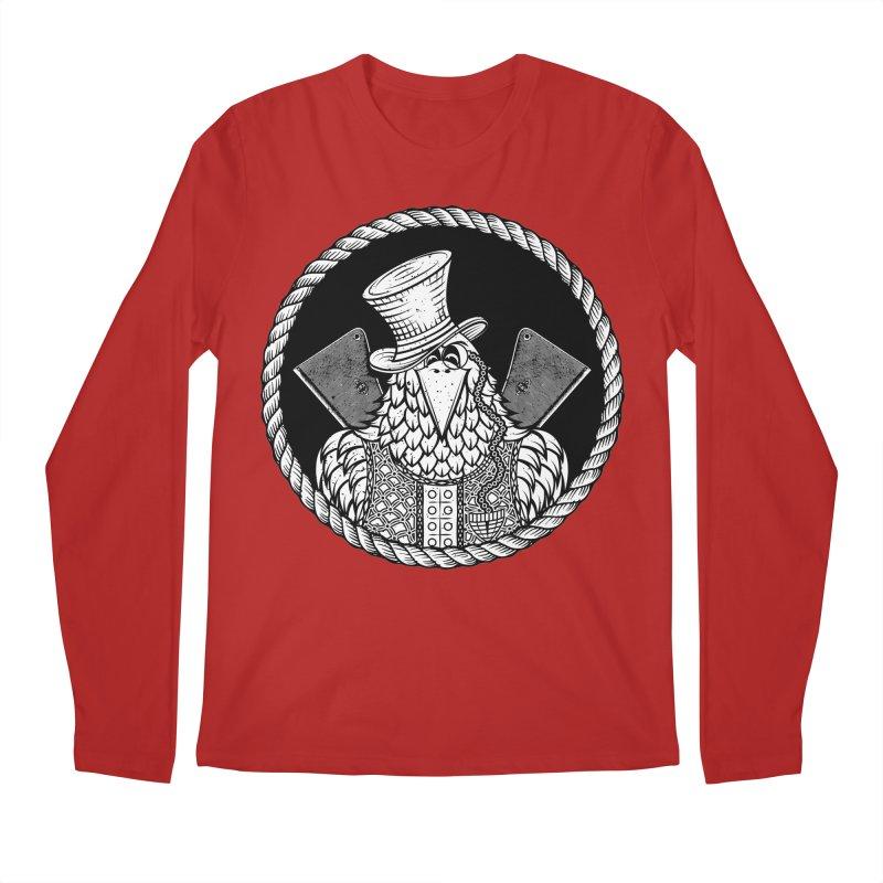 Not so friendly Raven Men's Longsleeve T-Shirt by thebraven's Artist Shop