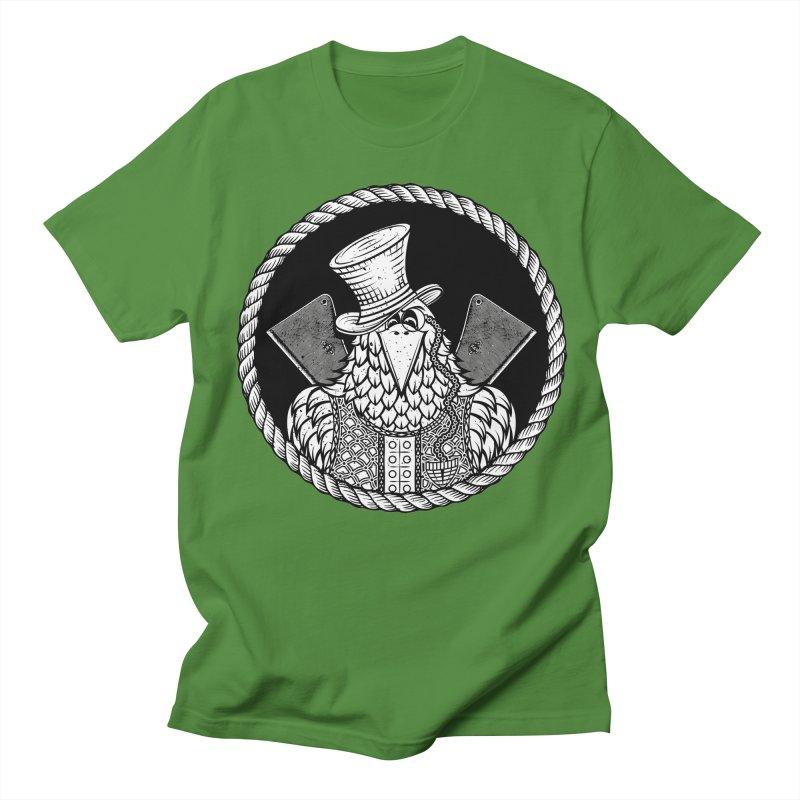 Not so friendly Raven Men's T-Shirt by thebraven's Artist Shop