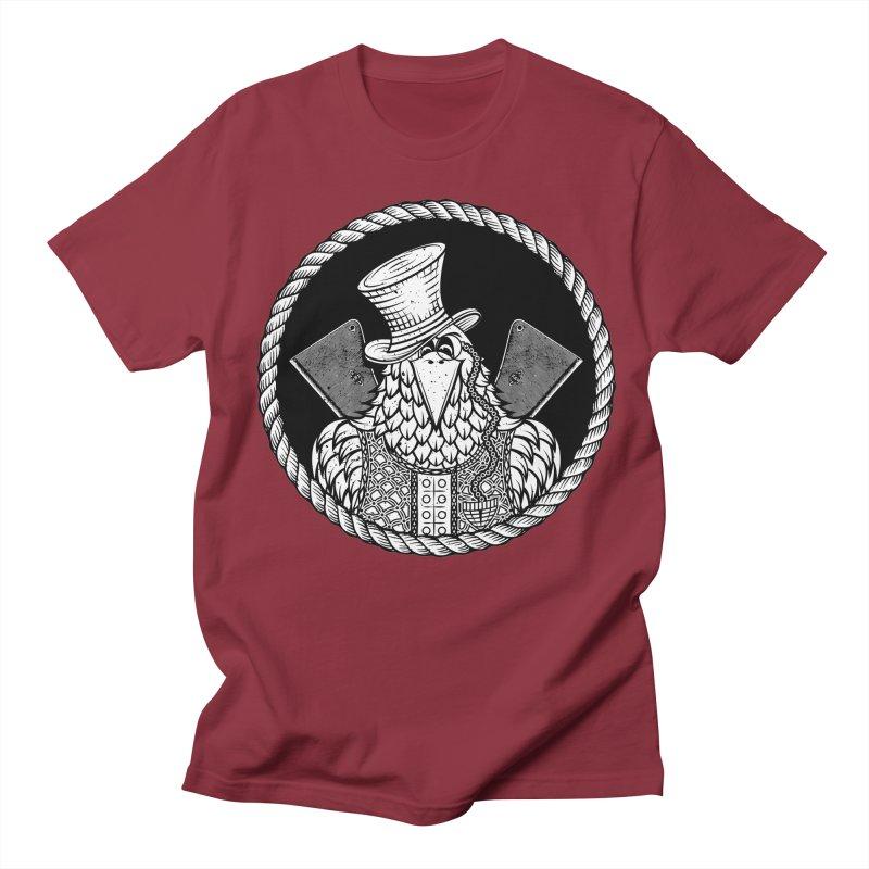 Not so friendly Raven Men's Regular T-Shirt by thebraven's Artist Shop