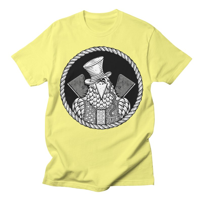 Not so friendly Raven Women's Regular Unisex T-Shirt by thebraven's Artist Shop