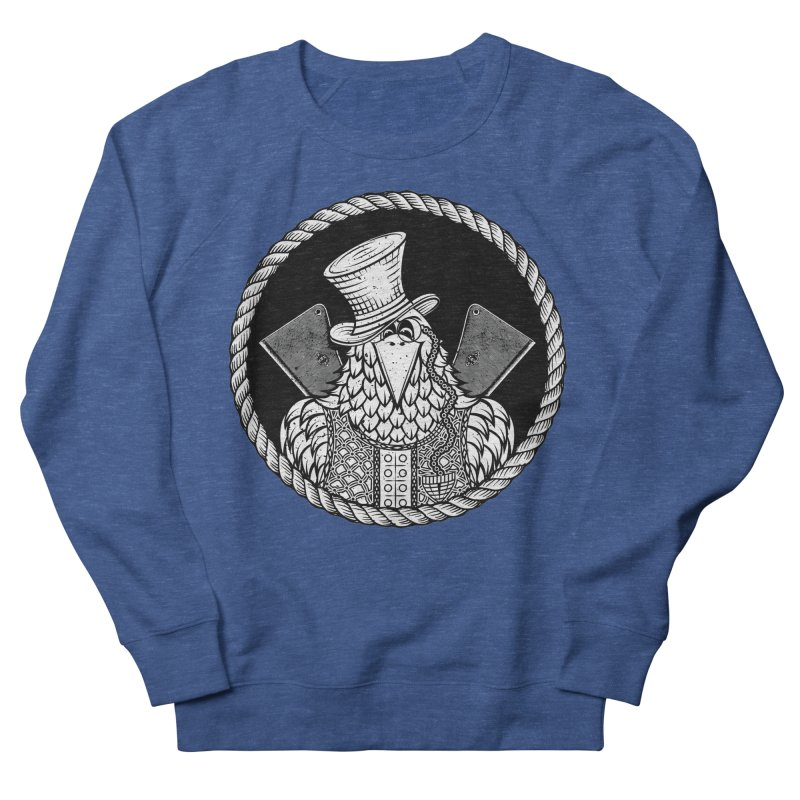 Not so friendly Raven Men's French Terry Sweatshirt by thebraven's Artist Shop