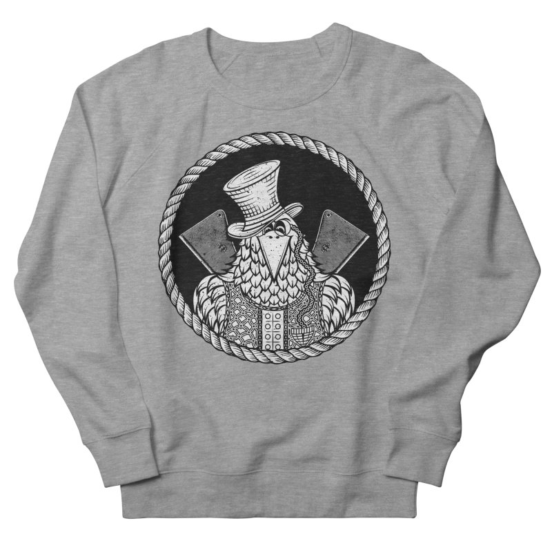 Not so friendly Raven Men's Sweatshirt by thebraven's Artist Shop