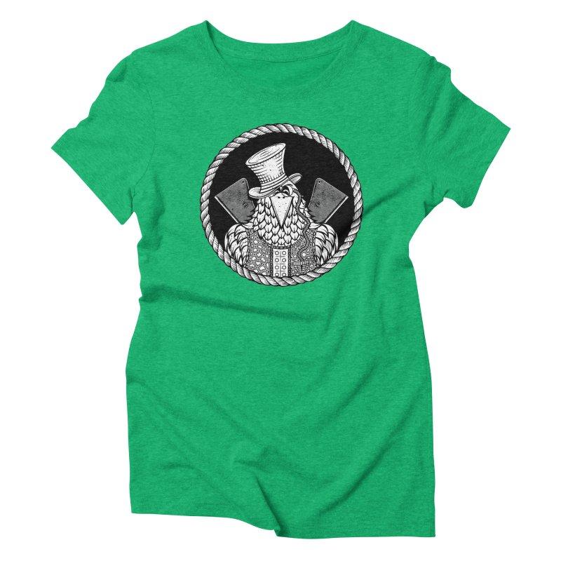 Not so friendly Raven Women's Triblend T-Shirt by thebraven's Artist Shop