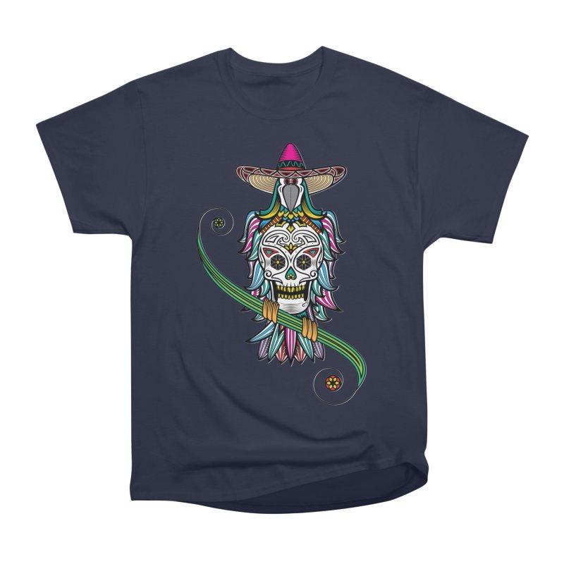 Los dios de muertos Women's Heavyweight Unisex T-Shirt by thebraven's Artist Shop