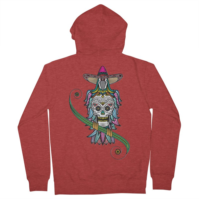 Los dios de muertos Men's Zip-Up Hoody by thebraven's Artist Shop