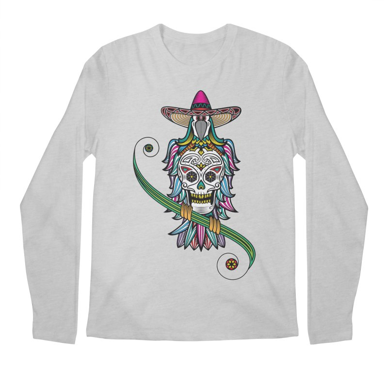 Los dios de muertos Men's Longsleeve T-Shirt by thebraven's Artist Shop