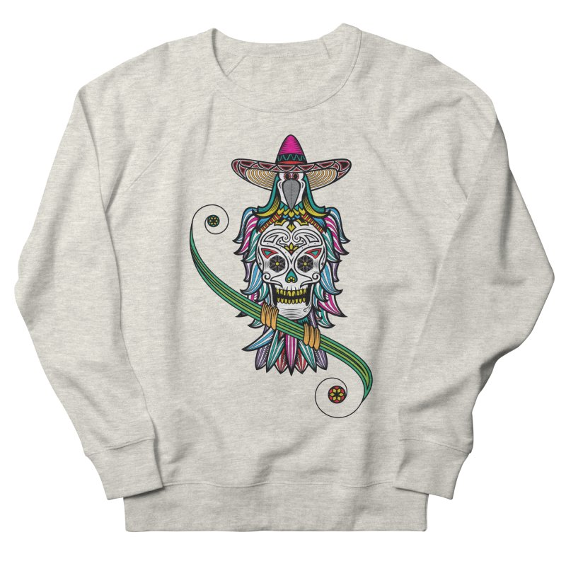 Los dios de muertos Women's French Terry Sweatshirt by thebraven's Artist Shop