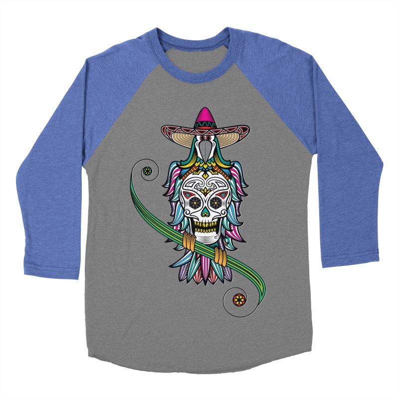 Los dios de muertos Men's Baseball Triblend T-Shirt by thebraven's Artist Shop