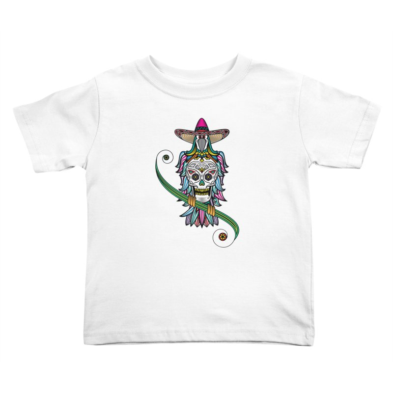 Los dios de muertos Kids Toddler T-Shirt by thebraven's Artist Shop