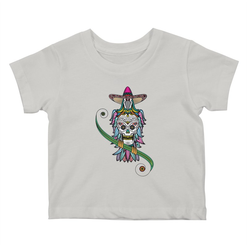Los dios de muertos Kids Baby T-Shirt by thebraven's Artist Shop