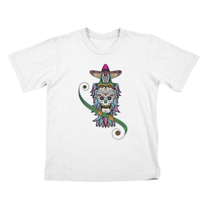 Los dios de muertos Kids T-shirt by thebraven's Artist Shop