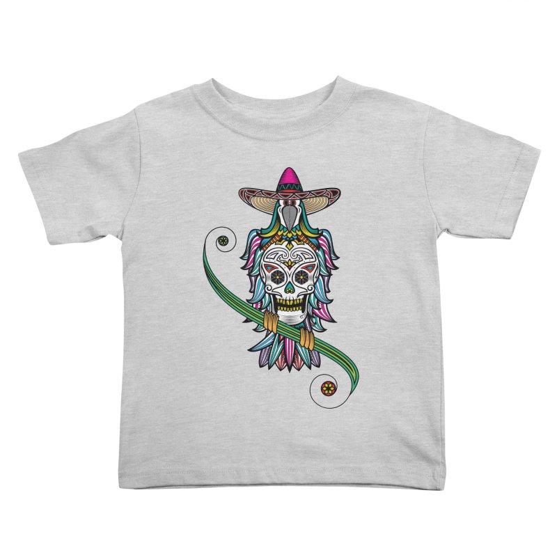 Los dios de muertos Kids Toddler T-Shirt by thebraven's Artist Shop