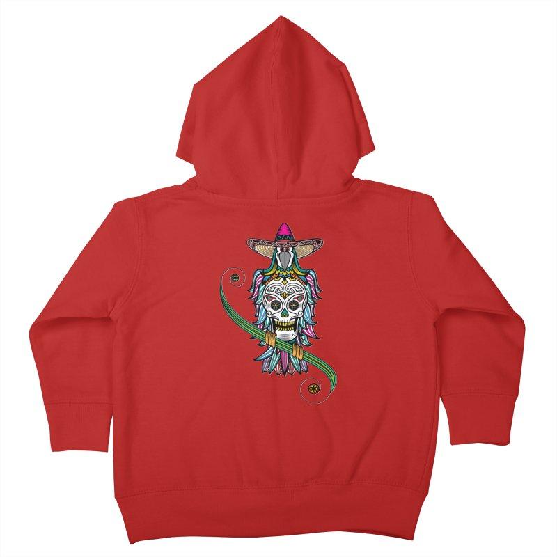 Los dios de muertos Kids Toddler Zip-Up Hoody by thebraven's Artist Shop