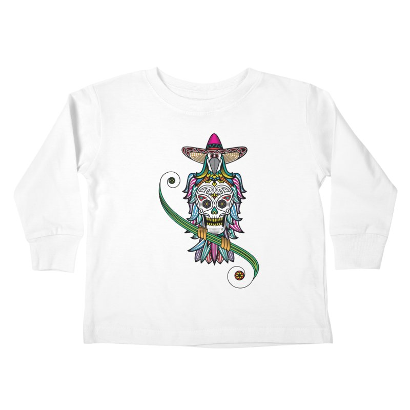 Los dios de muertos Kids Toddler Longsleeve T-Shirt by thebraven's Artist Shop