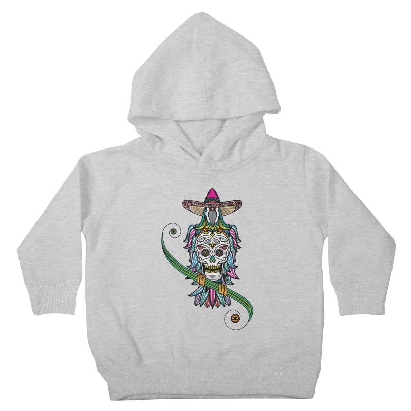 Los dios de muertos Kids Toddler Pullover Hoody by thebraven's Artist Shop