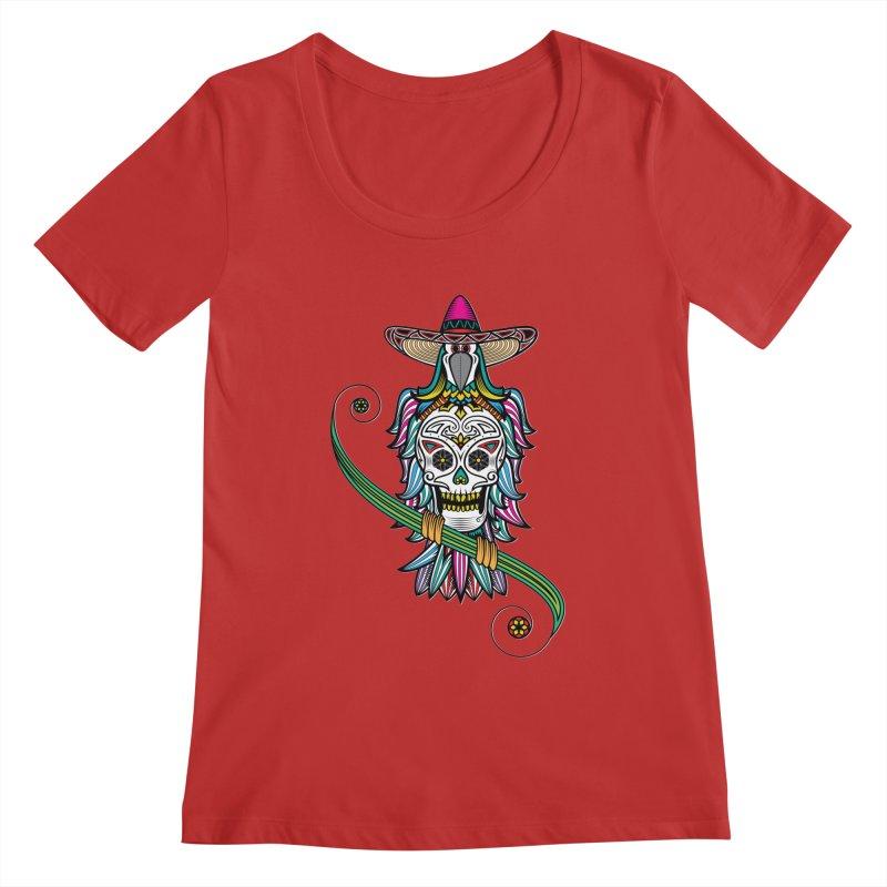 Los dios de muertos Women's Scoopneck by thebraven's Artist Shop