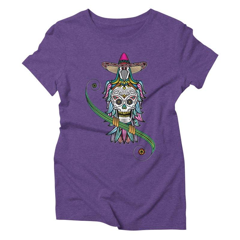 Los dios de muertos Women's Triblend T-shirt by thebraven's Artist Shop