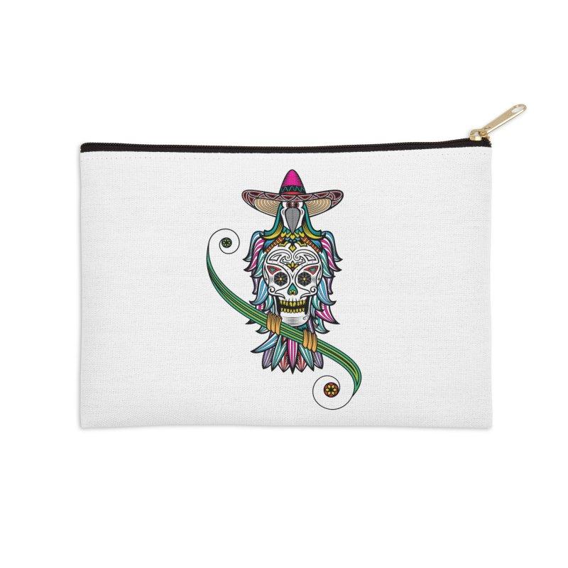 Los dios de muertos Accessories Zip Pouch by thebraven's Artist Shop