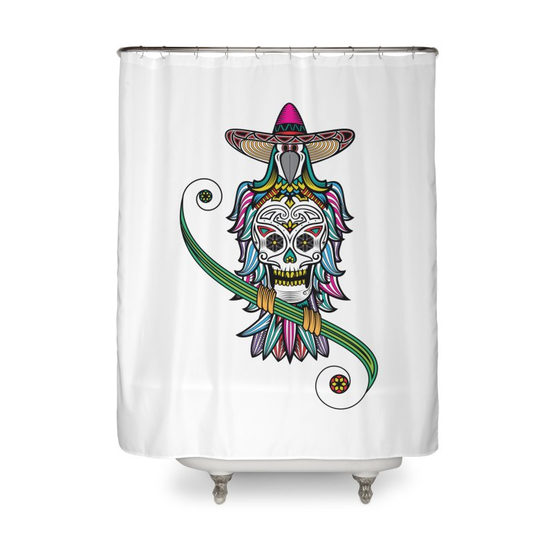 Los dios de muertos Home Shower Curtain by thebraven's Artist Shop