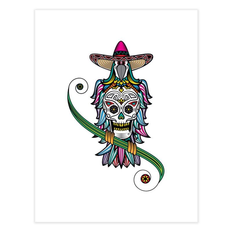 Los dios de muertos Home Fine Art Print by thebraven's Artist Shop