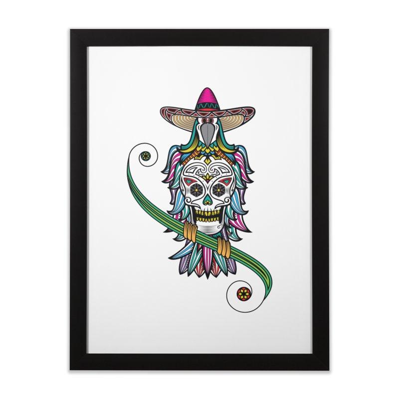 Los dios de muertos Home Framed Fine Art Print by thebraven's Artist Shop