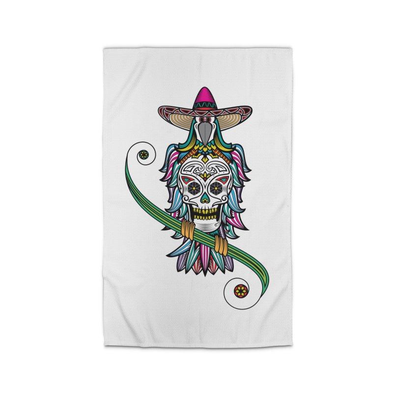 Los dios de muertos Home Rug by thebraven's Artist Shop