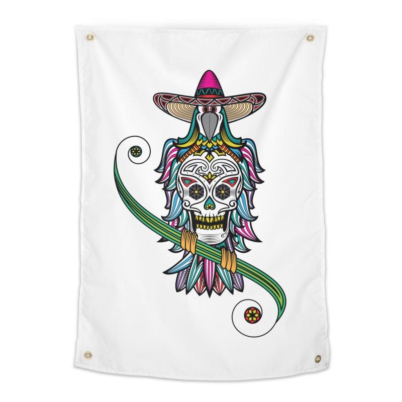 Los dios de muertos Home Tapestry by thebraven's Artist Shop