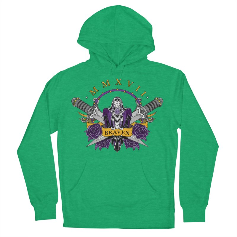 Nevermind the Braven Men's French Terry Pullover Hoody by thebraven's Artist Shop