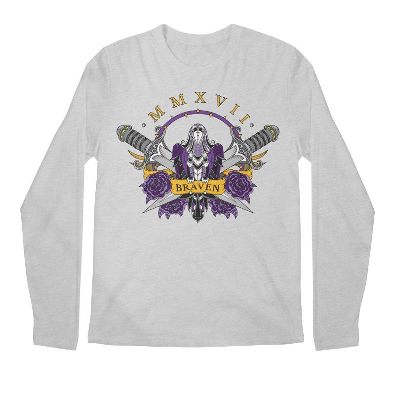 Nevermind the Braven Men's Longsleeve T-Shirt by thebraven's Artist Shop