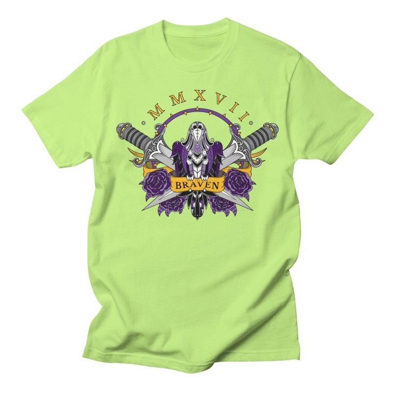 Nevermind the Braven Men's Regular T-Shirt by thebraven's Artist Shop