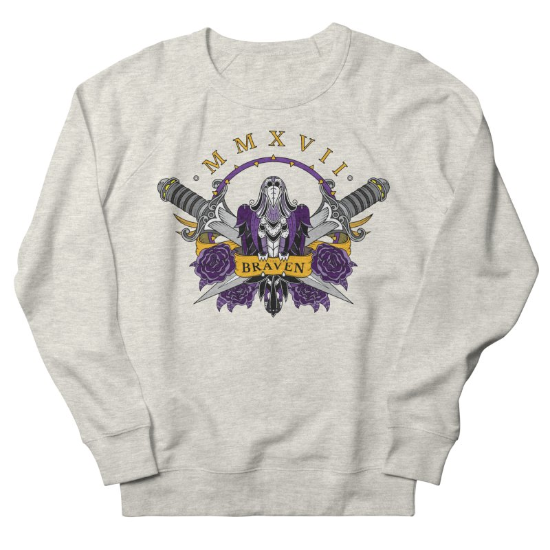 Nevermind the Braven Men's French Terry Sweatshirt by thebraven's Artist Shop