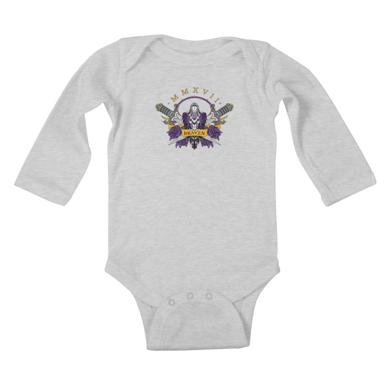 Nevermind the Braven Kids Baby Longsleeve Bodysuit by thebraven's Artist Shop