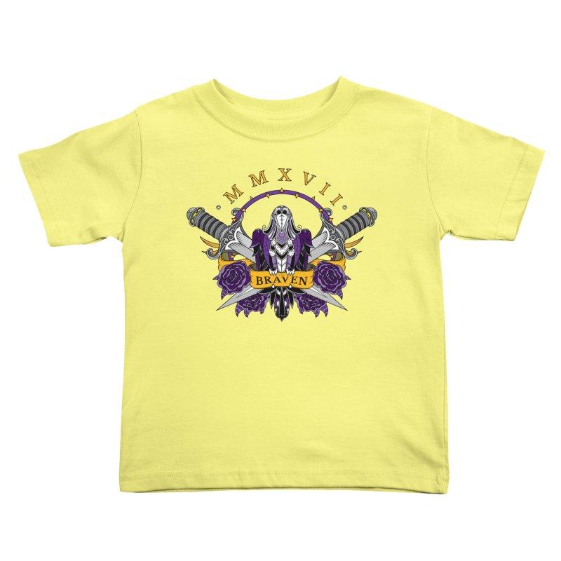 Nevermind the Braven Kids Toddler T-Shirt by thebraven's Artist Shop