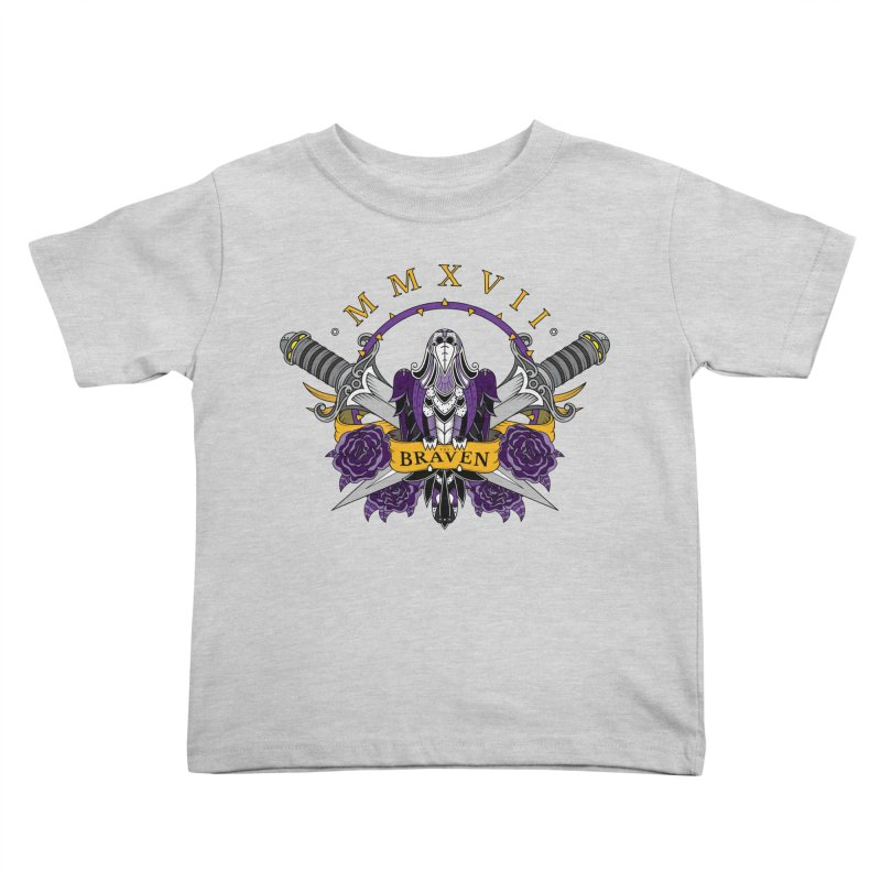 Nevermind the Braven Kids Toddler T-Shirt by thebraven's Artist Shop