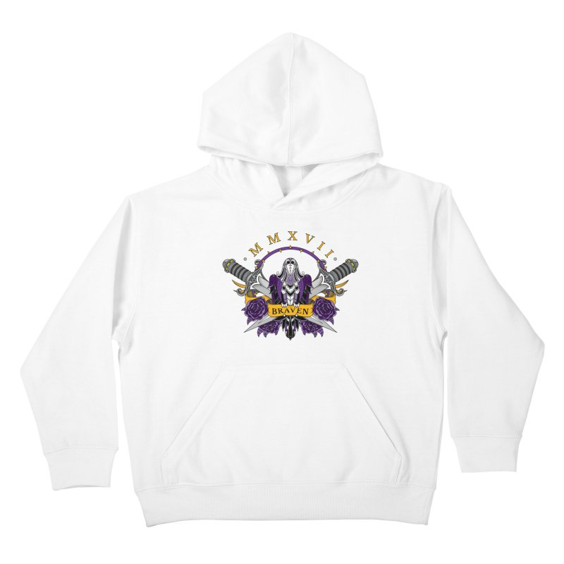 Nevermind the Braven Kids Pullover Hoody by thebraven's Artist Shop