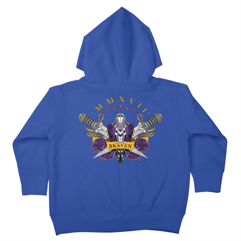 Nevermind the Braven Kids Toddler Zip-Up Hoody by thebraven's Artist Shop